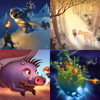Will Terry - Children's Book Illustrator | Illustrating Children's Books | Scoop.it
