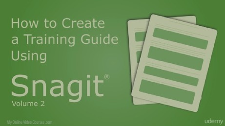 New Snagit Course on Udemy – Snagit Guide | Snagit Stamps | Scoop.it