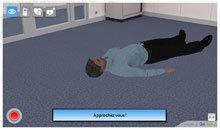 Serious Games & Jeux Sérieux » « Staying Alive » : l'expérience 3D pour aider à sauver des vies ou apprendre à pratiquer les premiers secours grâce à la plate-forme expérientielle 3D en ligne | Tic et enseignement | Scoop.it