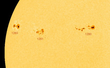 Spectacular sunspots plus meet Earth's newest friend, asteroid 2010 TK7 | Astro Bob | Planets, Stars, rockets and Space | Scoop.it
