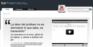 Videos de matemáticas ~ Docente 2punto0 | MathEd | Scoop.it