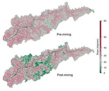 Central Appalachia Flatter Due to Mountaintop Mining   Geology   Scoop.it
