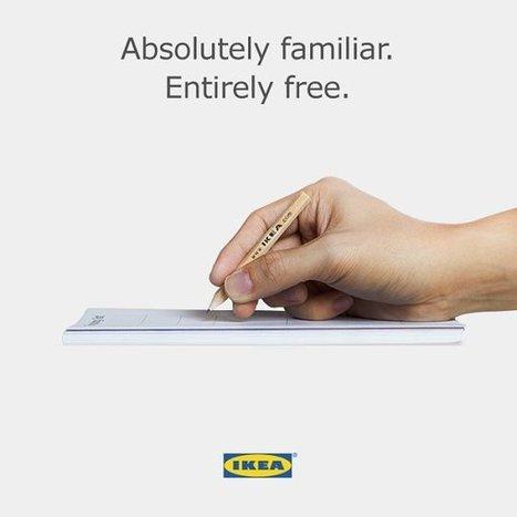 Ikea se moque de l'Apple Pencil à 99 euros | Knowledge Management | Scoop.it