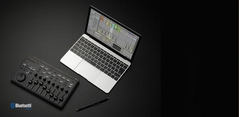 nanoKONTROL Studio MOBILE MIDI CONTROLLER | MIDI Controllers | KORG | Mastering Studio Recording | Scoop.it