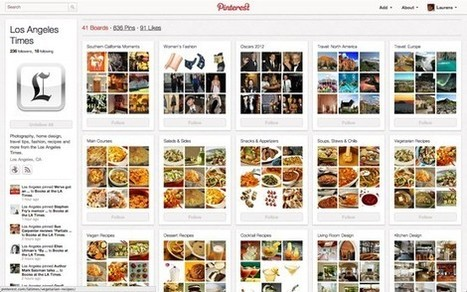 LA Times now on Pinterest | ten Hagen on Social Media | Scoop.it