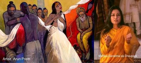 When women step out of Indian epics to express real desires and choices in real books | Literature & Psychology | Scoop.it