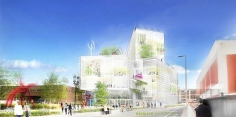 Boston's EpiCenter: Plans for the Largest Energy Positive Commercial Building on the East Coast | sustainable architecture | Scoop.it