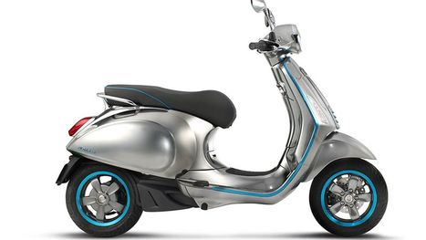 Vespa's first electric scooter looks gorgeous | Matters of Design | Scoop.it
