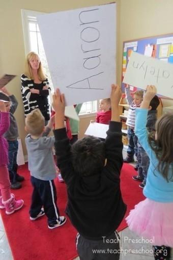The name game | Teach Preschool | Teach Preschool | Scoop.it