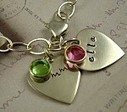 Personalized Custom Hand Stamped Charm Bracelets, Charm Bracelets For Women | Our Jewelry | Scoop.it