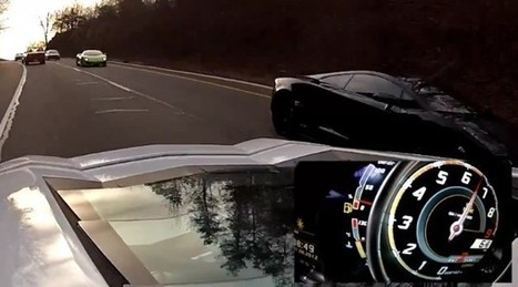 Watch a twin-turbo Lamborghini Gallardo race an Aventador   The DATZ Blast   Scoop.it