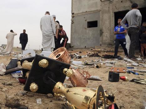 Death toll in Iraq stadium bombing climbs to 41 | The Pulp Ark Gazette | Scoop.it