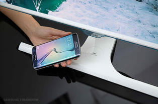 Samsung unveils monitor that can wirelessly charge your phone | Mobile Technology | Scoop.it