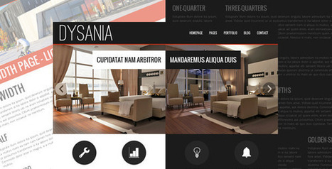 Dysania- Responsive Multi-Purpose HTML Template (Business) | Kay Brighton Studio | Scoop.it