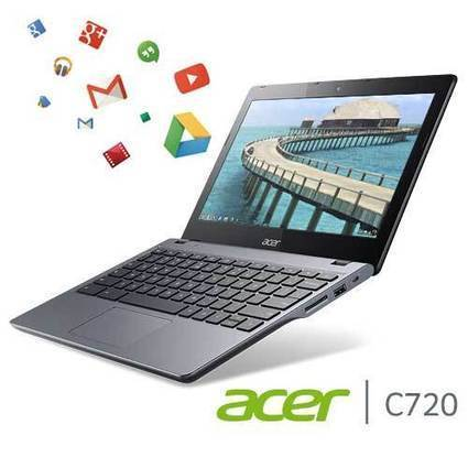 Acer C720 Chromebook (11.6-Inch, 4GB) | Gadget World Store | Laptops | Scoop.it