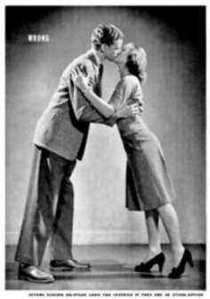How to Kiss, 1942-Style, According to LIFE Magazine   Sex Positive   Scoop.it
