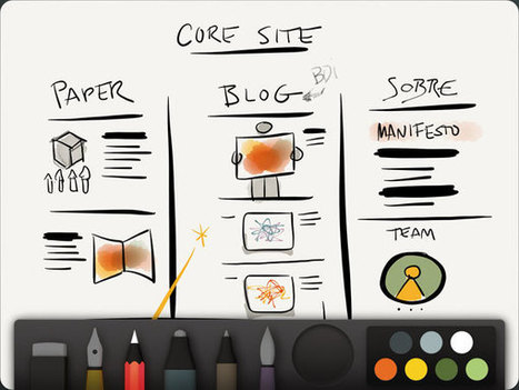Paper, um dos melhores aplicativos de desenho no iPad, recebe algumas novidades | Blog do iPhone | Desenho | Scoop.it
