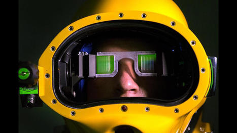 US Navy shows off its augmented-reality diving helmet, Ep. 235 video | AR - QR | Scoop.it