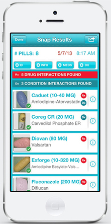 Big Problem, Smart Solution: An App That IDs the Pills You're Taking   Wired Design   Wired.com   Futurewaves   Scoop.it
