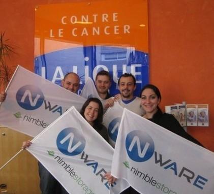 Ligue Contre le Cancer   Bravo à Sana et toute son équipe de l'entreprise NWARE   infra & cloud   Scoop.it