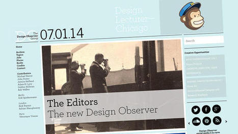Behind The Scenes Of The Design Observer's New Look - Co.Design | art, design and reports | Scoop.it