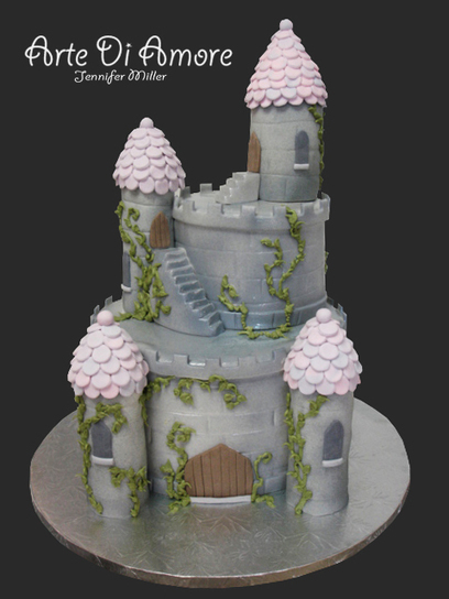 Castle Cake | Just Chocolate!!! | Scoop.it