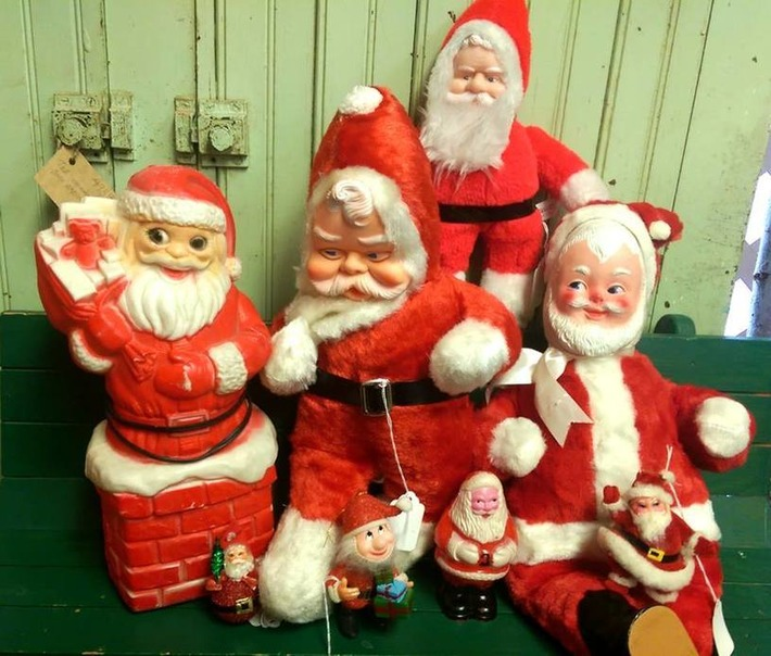 We have Santas; Yes, we do! | Antiques & Vintage Collectibles | Scoop.it