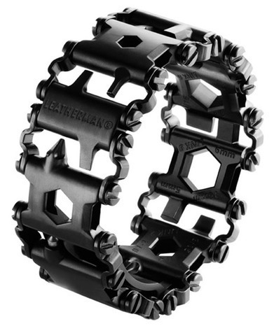 New Leatherman Tread bracelet combines 25 tools into a functional wearable multi-tool | Brian's Science and Technology | Scoop.it