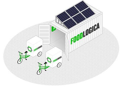Le vélo-cargo solaire pour transporter la nourriture ? | Vous avez dit Innovation ? | Scoop.it
