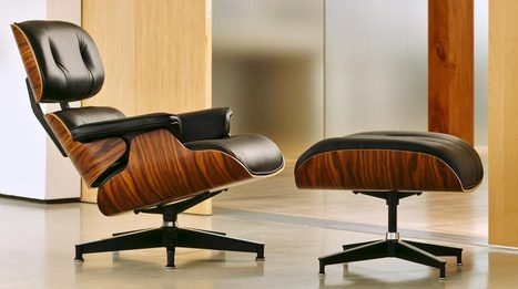 Eames Lounge Chair - Most Comfortable Chair For Your Home and Offices | Manhattan Home Design | Scoop.it