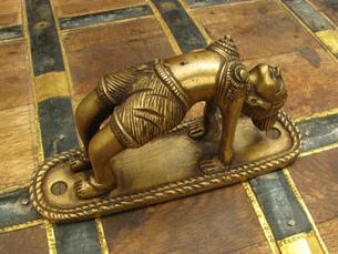 Brass cabinet pulls....... | eyesofindia | Scoop.it