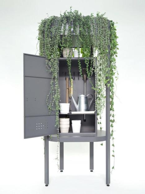 A Gardening Cabinet That Doubles as a Planter - Design Milk | CLOVER ENTERPRISES ''THE ENTERTAINMENT OF CHOICE'' | Scoop.it