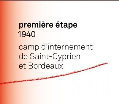 Nous étions indésirables en France : 1940. Camp d'internement de Saint-Cyprien et Bordeaux | Jewishtraces | Archives  de la Shoah | Scoop.it