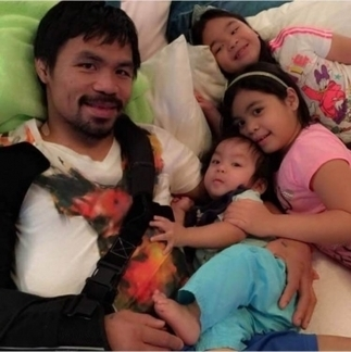 After Fight of the Century, Manny Pacquiao dotes on family, spends time ... - ChristianToday | Family Catechism | Scoop.it