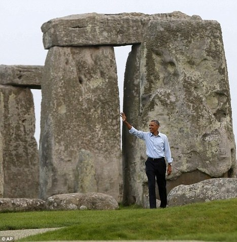"'Knocked off the bucket list': Obama's surprise visit to Stonehenge | ""FOLLIEWOOD"" 