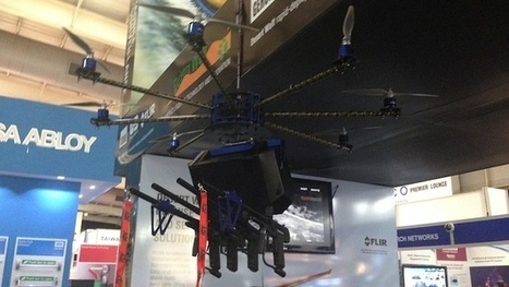 Riot control drone armed with paintballs and pepper spray hits market | Disruptive Innovation | Scoop.it