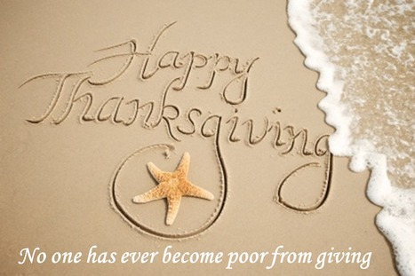 Give thanks for a little and you will find a lot | Free Android Kids Games | Scoop.it