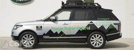 Range Rover (& Range Rover Sport) Hybrid revealed - on ... - Cars UK   Second hands cars sales UK   Scoop.it