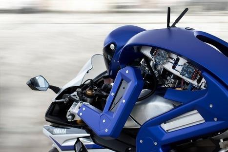 Yamaha's Motobot motorcycle-riding humanoid robot | Gizmag | Cultibotics | Scoop.it