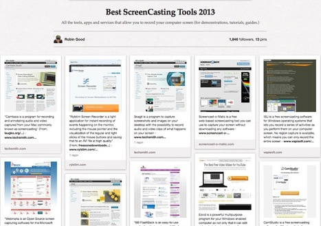 Best ScreenCasting Tools 2013 | Duct Tape Media | Scoop.it
