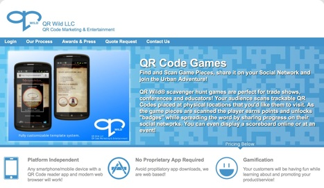 QR Wild - Play and Create QR Code Games! | Tools for Teachers & Learners | Scoop.it