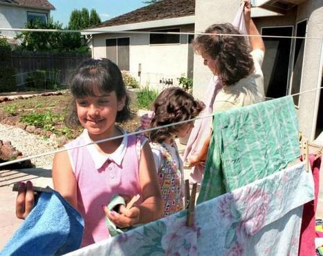 Clotheslines could be strung out by California bill | California | Scoop.it