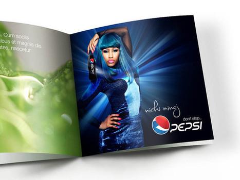 Design Boutique's Reimagined Pepsi Logo | StockLogos.com | Graphic Arts & Design Today | Scoop.it