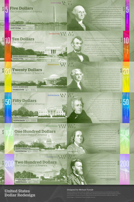 9 Awesome US Dollar Redesign Concepts | Art and Design | Scoop.it
