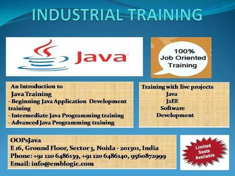 JAVA training courses will give your career a boost   Free online JAVA cource   Scoop.it