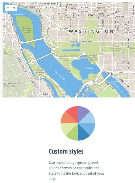 Design | MapBox: Design custom maps in minutes | Datavisualisation & géopolitique | Scoop.it