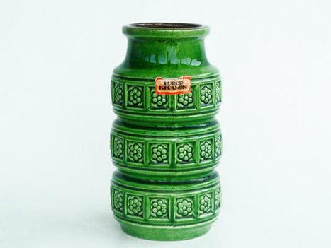 Funky Scheurich pottery vase | Chummaa...therinjuppome! | Scoop.it