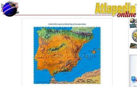 Atlapedia, mapas físicos y políticos de cualquier país del mundo | Geografía secundaria | Scoop.it