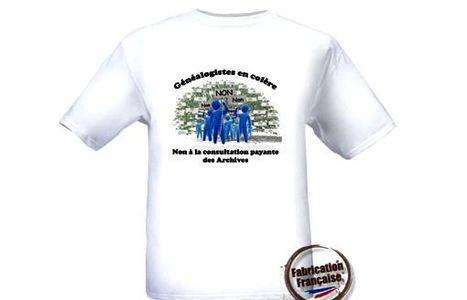 Charente: Les généalogistes enfilent le tee-shirt de la colère - CharenteLibre | Rhit Genealogie | Scoop.it