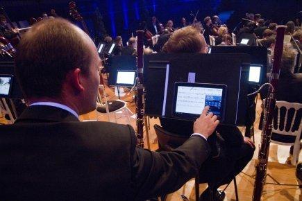 Un orchestre passe des partitions papier au numérique   Musique classique   Médiathèque de Soultz   Scoop.it